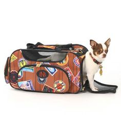 Bark N Bag Weekender Travelor Pet Dog Carrier Airline Approved 18″ L x 10″ H x 10″ W « DogSiteWorld-Store