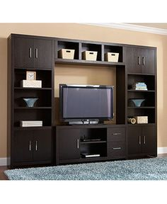 Stockholm Entertainment Collection - use design, different color Tv Cupboard Design, Bedroom Cupboard Designs, Tv Unit Interior Design, Tv Wall Design, House Design, Tv Unit Furniture, Furniture Design, Furniture Market, Furniture Stores