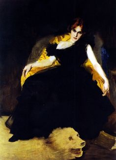 1900 The Morphine Addict ~ Vittorio Matteo Corcos ~ (Italian: 1859-1933)