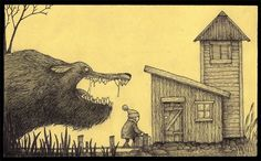 Don Kenn- When he has time he draws monsters on post-it notes.