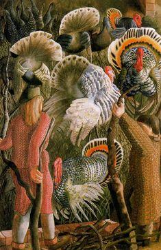Stanley Spencer - Turkeys Perus, 1946
