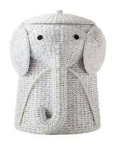 Elephant hamper - Home Depot $80