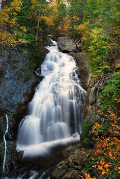 Crystal Cascade - Mt. Washington, New Hampshire; photo by VermontDreams, via Flickr