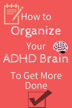 Check out these practical tips on managing ADHD and improving your attention, focus, and concentration. I use these and they WORK! #ADHD #AdultADHD #ADHDinwomen