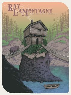 Image of Ray LaMontagne in Troutdale, OR Poster