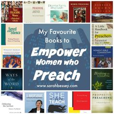 My Favourite Books to Empower Women Who Preach | Sarah Bessey