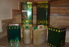 das fertige Produkt - Olivenöl extra-vergine