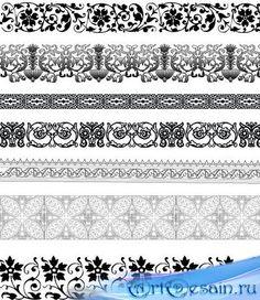 винтажный бордюр вектор: 6 тыс изображений найдено в Яндекс.Картинках