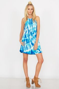 Blue Crush Dress | Cille Dora