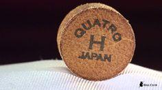 모라비아 당구 큐 팁 콰트로 H /  MOLAVIA QUATRO Billiards cue tips H