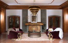 Samt Sessel | Velvet Chair | Luxus Wohnzimmer | Luxury living room | Luxus Esszimmer | Luxury dining room www.brabbu.com