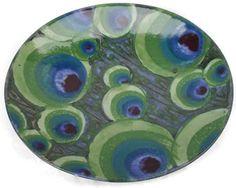 Peacock Platter