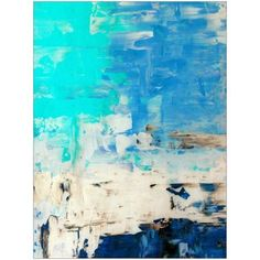 Opposite, Abstract Painting Art by Eazl, Size: 18 x 24, Blue