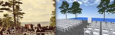 A Pearl Events LLC outdoor wedding. Come walk around the event in 3D! http://www.eventsclique.com/eventdesigner/Main2.html?p=276639105