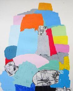 "Saatchi Art Artist Andy Shaw; Painting, ""Stacks"" #art"
