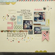 mixing patterned paper tips by @Lisa Truesdell