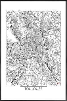 Toulouse Minimal Gerahmtes Poster Jetzt Bestellen Unter: Https://moebel .ladendirekt.de/dekoration/bilder Und Rahmen/poster/?uidu003d7a5da84d 0659 5918 99b8   ...