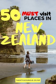Creating New Zealand travel itinerary is never easy - so much to see and do! This list of our places in New Zealand will help! All New Zealand must-do's in one place, you just need to choose. Depending on the aim of your trip: New Zealand adventures New Zealand Itinerary, New Zealand Travel Guide, Cool Places To Visit, Places To Travel, Travel Destinations, Canterbury, Auckland, New Zealand Adventure, Visit New Zealand