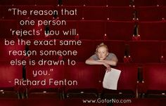 Must remember on #rejection #goforno