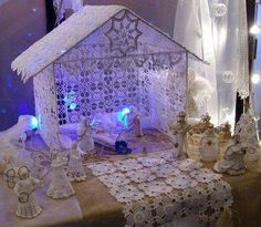 Crochet Nativity - Beautiful!