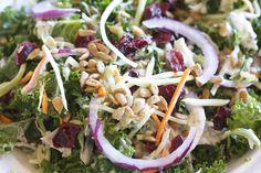 Trader Joe's Kale and Broccoli Slaw Salad with Chicken Copycat