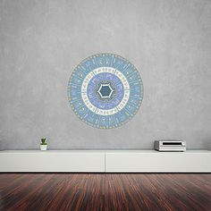 Native American Mandala Wall Art Sticker - bedroom