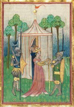 Albrecht : Jüngerer Titurel (2. Teil, ab Str. 2822) 1. Hälfte 15. Jh. Cgm 8470 Folio 319