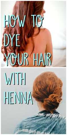 How to dye your hair with henna. Get bright red hair.