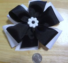 girls Hair bows about 6 100% polyester made in the by bowtique48