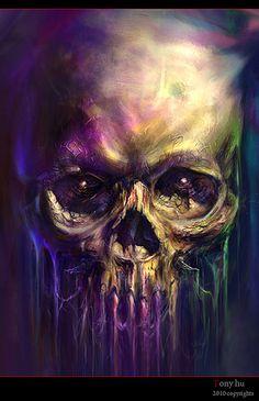 -skull-painting   Flickr - Photo Sharing!