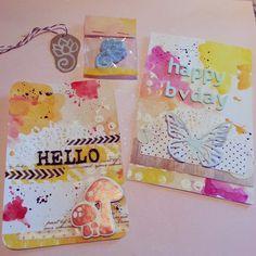 Happy mail - Acuarelas / watercolor