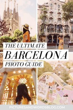 Read this Barcelona travel guide for the most Instagram worthy things to do in Barcelona! Packed with beautiful Barcelona photography and inspiration for the most Instagrammable places in Barcelona to add to your itinerary. Packed with Barcelona, Spain travel tips and all the best Barcelona photo spots, such as Gaudi architecture, the most beautiful churches, and more!