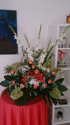 Centro de flores Jardín de Abril