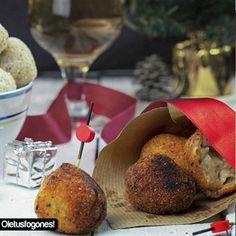 Croquetas de pollo y manzana