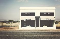 Prada Marfa Art, Marfa Texas Photography, Prada Marfa, Texas Photography, Western print, fashion wall art,. The Prada Marfa art installation in the West Texas Desert outside Marfa, Texas. Printed with archival inks on Epson professional paper, by yours truly, on my large format printer. Print comes to you in a plastic sleeve, with a white border. Archival Ink is rated to last 100 years or more, making this a truly heirloom quality piece of artwork.