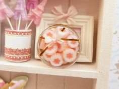 Caja de Caramelos rosados ♡ ♡