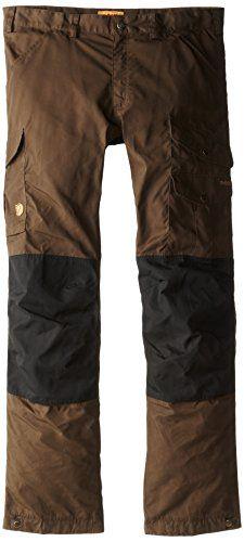 7b1279da4688 Fjallraven Mens Vidda Pro Trousers Regular Dark GreyBlack 48     For more  information