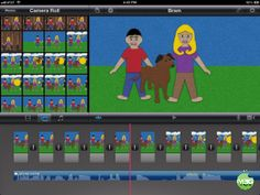 Introducing Stop Motion to Young Kids with Felt Board and iMovie Apps. Another way to create fun stories with young kids. Narrativa Digital, Stop Motion, Motion Video, Digital Storytelling, Create Animation, Educational Technology, Fun Stories, Art Lessons, Technology Integration