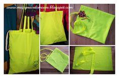 Pracownia Milgra: Neonowe torby zakupowe
