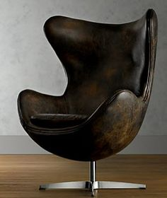 sofas | Design Manifest ; Leather swivel chair. Of course I want it!!