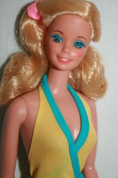 Vintage-1875-Blonde-My-First-Barbie-1980-TNT-W-Original-Outfit