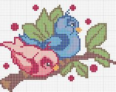Funny Art Canvas Cross Stitch Ideas For 2019 Cross Stitch Bird, Cross Stitch Animals, Cross Stitch Flowers, Cross Stitching, Cross Stitch Embroidery, Beading Patterns, Embroidery Patterns, Pixel Crochet Blanket, Funny Cross Stitch Patterns