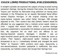 Chuck Lorre Vanity Cards 198