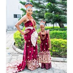 Nigerian Wedding Presents Uyi's Traditional Wedding Day Look | SC George Photography - Nigerian Wedding