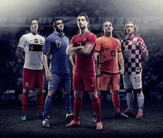 Novos uniformes da Nike para a Euro 2012