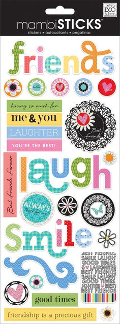 FRIENDS PLANNER STICKERS - Me & You