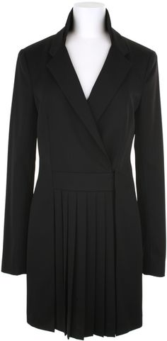 Alexander Wang Trompe Loeil Coat in A Blend Of Wool and Polyester