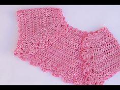 Crochet Bolero a crochet muy lindo y sencillo Majovel crochet, ganchillo,labores,puntos, principiantes, paso a paso, DIY, fácil, sencillo, medidas, cadena, cadeneta, crochet, dobre crochet, triple crochet, mecico , vareta.