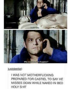 DESTIEL TBH in this scene he sounded like a troubled teenaged girl who is dealing with the aftermath of a breakup