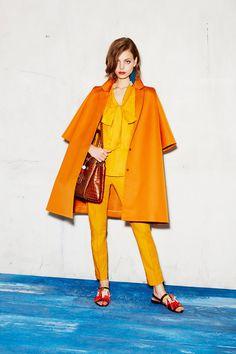 Paule Ka Resort 2017 Fashion Show #boldcolors #colorcombo #colorblocking